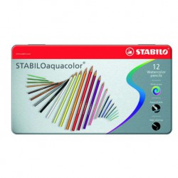 STABILO AQUACOLOR MATITE COLORATE